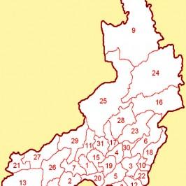 Карта кадастровая Забайкальского края: данные по земельным участкам