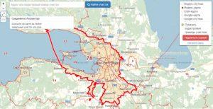 Публичная кадастровая карта Санкт Петербурга