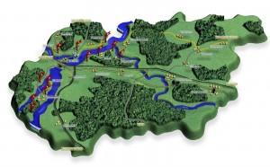 Предоставляет информацию о земельных участках