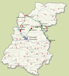 Данные земельных участков