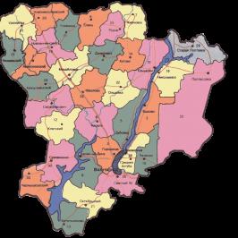 Публичная кадастровая карта Волгоградская область с населенными пунктами