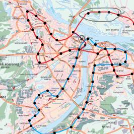 Публичная кадастровая карта Новгородской области: города и их границы