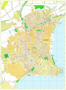 сведения о территории на карте