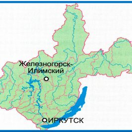 Публичная кадастровая карта Иркутской области 2017: схематическое отображение местности