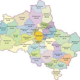 Публичная кадастровая карта: Москва с размещением объектов недвижимости