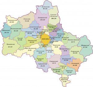 карта Москвы 2016 года онлайн