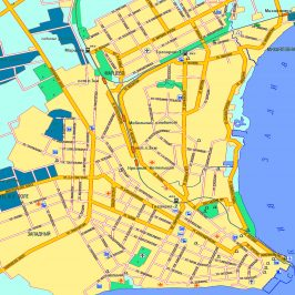 Публичная кадастровая карта Таганрога: деление земельных участков