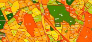 определить месторасположение земельного участка