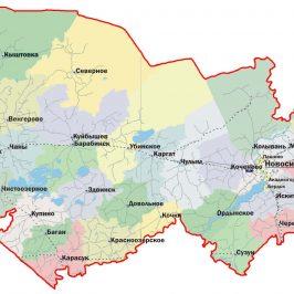 Публичная кадастровая карта Новосибирская область 2017: деление земельных участков