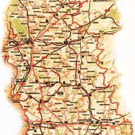 Публичная кадастровая карта Псковской области