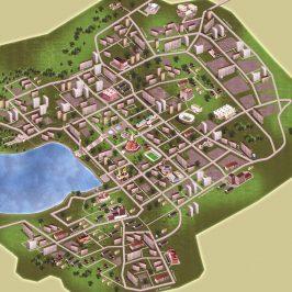 Публичная кадастровая карта Ижевска: онлайн версия