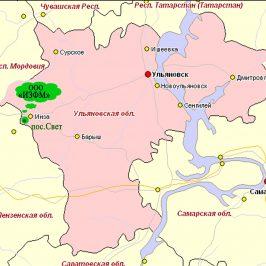 Публичная кадастровая карта Ульяновской области: данные Земельного Кадастра