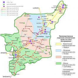 Публичная кадастровая карта Республики Коми: сведения по территории