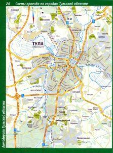 карта Тулы – это документ