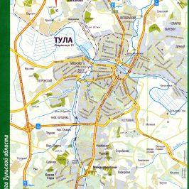 Публичная кадастровая карта Тульской области: размещение земель и объектов