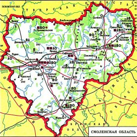 Публичная кадастровая карта Смоленской области