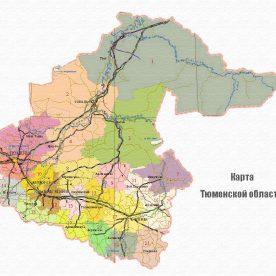 Публичная кадастровая карта Тюменской области