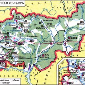 Публичная кадастровая карта Костромской области