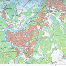 Публичная кадастровая карта Уфы: использование схематического документа