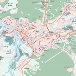 Публичная кадастровая карта Улан-Удэ: сведения о территориях