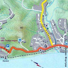 Публичная кадастровая карта Сочи и близлежащие населенные пункты