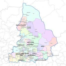 Публичная кадастровая карта Свердловской области: онлайн данные