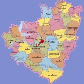 Публичная кадастровая карта Самарской области