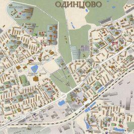 Публичная кадастровая карта Одинцово: использование с удобством онлайн
