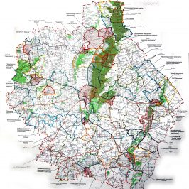Публичная кадастровая карта Тамбовской области: территориальные ценности