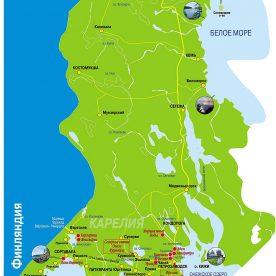 Публичная кадастровая карта Карелия