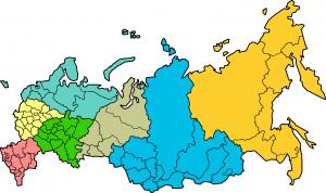 Административное деление согласно карте