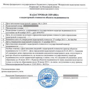 Выписка из ЕГРН о характеристиках и правах – 230 руб.