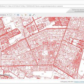 Кадастровая карта, Яндекс-карты: отличия
