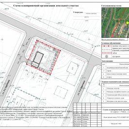 Кадастровая схема земельных участков: план расположения территорий