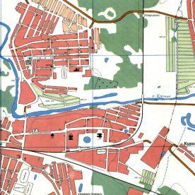 Кадастровая карта города: обозначения