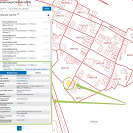 Кадастровая карта домов: описание
