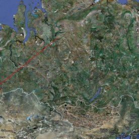 Спутниковая кадастровая карта: снимок со спутника