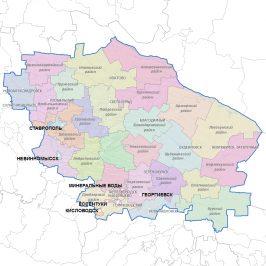 Публичная кадастровая карта Ставропольского края: предназначение сервиса