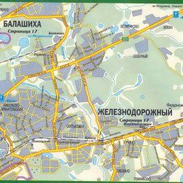 Публичная кадастровая карта: Железнодорожный и данные по нему