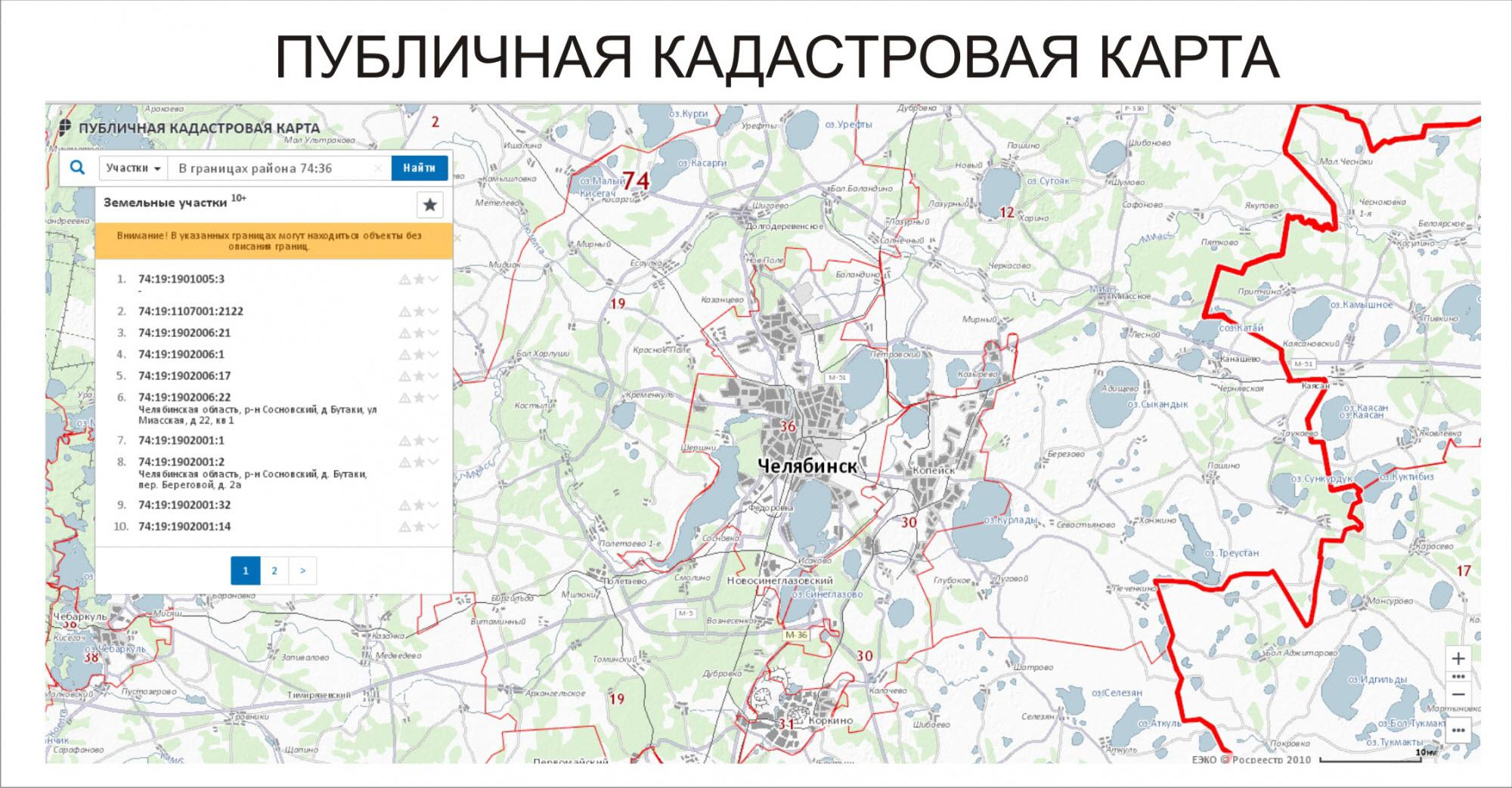 кадастр реестр земельных участков