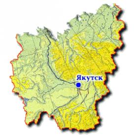 Публичная кадастровая карта республики Саха Якутия
