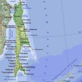 Публичная кадастровая карта Сахалинской области