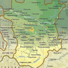 Публичная кадастровая карта республики Чеченская