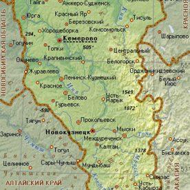 Публичная кадастровая карта Кемеровской области