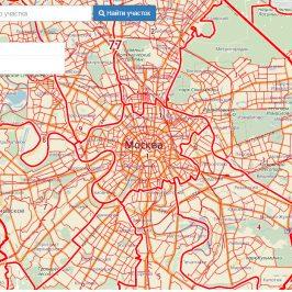 Публичная кадастровая карта Московской области 2017