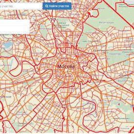 Публичная кадастровая карта Московской области