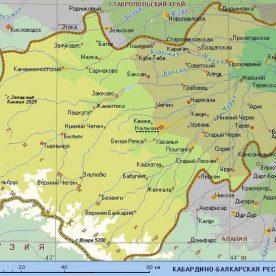 Публичная кадастровая карта Кабардино Балкарской республики