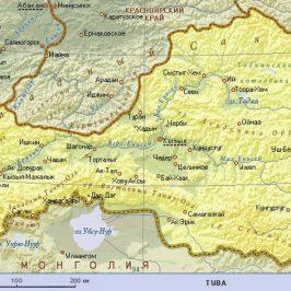 Публичная кадастровая карта Республики Тыва