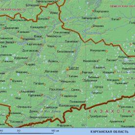 Публичная кадастровая карта Курганской области