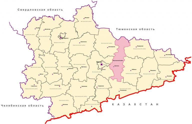 Картинки карт курганской области кучинской